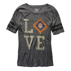 True Religion Serape Love Football T - Shirt  $88 - 5 Faves for Fall on InStyle