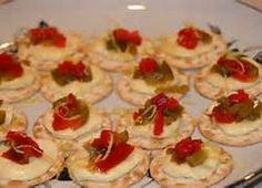 red and white appetizers - Bing Images