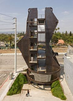 Samitaur Tower by Eric Owen Moss