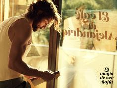 """""""Y allí estaba como siempre junto al ventanal donde se podía leer el nombre del local: El café de Alejandría. Aquel día no traía su portátil, solo un cuaderno manoseado donde apuntaba cosas mientras hablaba por teléfono con voz muy ba""""  Benavent, Elísabet. """"La magia de ser Sofía"""""""