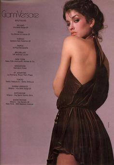 Janice for Gianni Versace, by Richard Avedon, 1980
