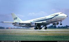 Vintage SAS Boeing 747