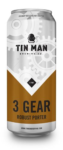Tin Man Brewing - 3 Gear Porter by Melodic Virtue