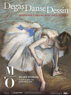 Degas Danse Dessin. Un hommage à Degas avec Paul Valéry | Boutiques de Musées