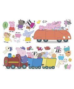 GBP - 20 Peppa Pig Stickarounds Stickers Stickerounds Self Adhesive Bedroom Stickers & Garden Peppa Pig Juegos, Cumple Peppa Pig, Bedroom Stickers, Wall Stickers, Third Birthday, Baby Birthday, Peppa Pig Stickers, Peppa Pig Imagenes, Peppa Pig Wallpaper