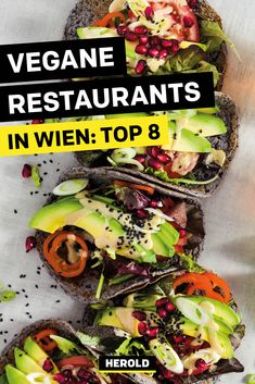 Restaurant Bar, Vienna Restaurant, Best Vegan Restaurants, Vegan Lifestyle, Vegan Breakfast, Avocado Toast, Vegan Recipes, Road Trip, Tofu