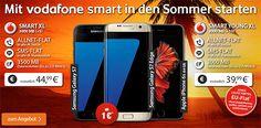 Vodafone Smart XL ab 39,99€ mit iPhone 6s, Galaxy S7 EDGE http://www.simdealz.de/vodafone/vodafone-smart-xl-3000/