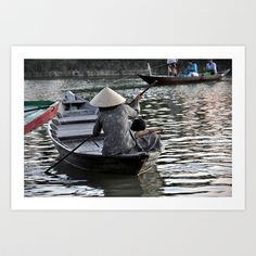 Life on the River Art Print by Andrea Vanni - $16.00