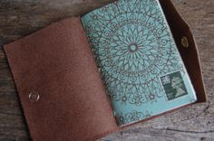 The Queen's Page  Traveler's Pocket Journal  by TravelingChariot, $12.00