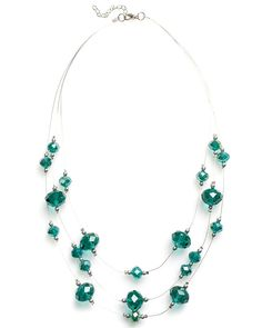 Faceted Illusion Necklace | East