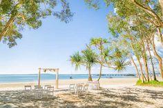 The ultimate island wedding location.. Sunset Beach on Fraser Island.