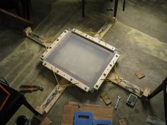 homemade screens. tips on stretching - T-Shirt Forums