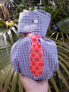 Fathers Day gift bag from upcycled shirt - PURSES, BAGS, WALLETS - Knitting, sewing, crochet, tutorials, children crafts, papercraft, jewlery, needlework, swaps, cooking and so much more on Craftster.org