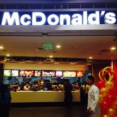 McDonald's is located at the level of SM City BF Paranaque. Broadway Shows, City, Food, Essen, Cities, Meals, Yemek, Eten