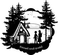 Vektor: Hänsel und Gretel