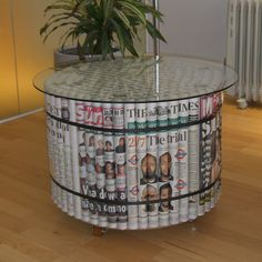 A 63cm diameter table