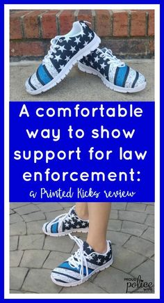 8f4fccadaf16c A comfortable way to show support for law enforcement  a Printed Kicks  Review