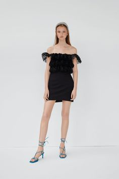 Ruffle Dress, Ruffles, Short Dresses, Formal Dresses, Models, Zara United States, Jumpsuit Dress, Dress With Bow, Jumpsuits For Women