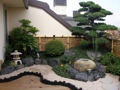 Japanese Garden Landscape, Small Japanese Garden, Japanese Garden Design, Japanese Gardens, Japanese Garden Backyard, Easy Garden, Small Oriental Garden Ideas, Zen Garden Design, Landscape Design