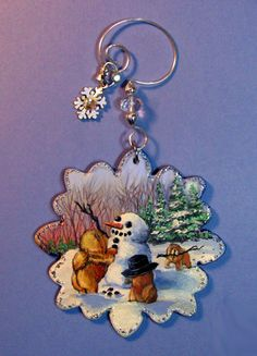 starting on Monday, Jan 21, 10 am CST on EBAY I will be offering this special ONE of a KIND Chow Chow Handpainted Ornament!!  Check it out.  thanks so much!!!!