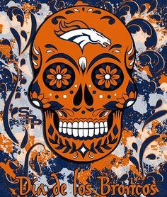 Dia de los Broncos! Awesome pic!