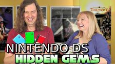 The mighty Nintendo DS handheld was a smashing world-wide success with over 150 million units sold since 2004. The DS is home to hundreds of fun & unique games in every genre...but in this video my friend Kinsey & I reveal some Hidden Gems or lesser known games that every DS gamer should have in their collection.
