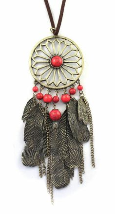 Dream Catcher Necklace i really want