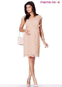 Maternity dress Visit:  http://mama-nova.hr/    #casual  #baby  #maternity #pregnancy        ČIpkasta haljina za trudnice mama nova