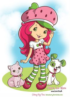 New Strawberry Shortcake Characters | Strawberry Shortcake Fun by HueVille