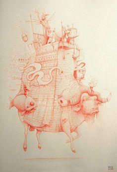 The Weird and Wonderful Artworks by Antonio Segura Donat