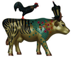 Cow parade * Something to Crow About * Cow Parade, Crow, Moose Art, Animals, Raven, Animales, Animaux, Crows, Animal