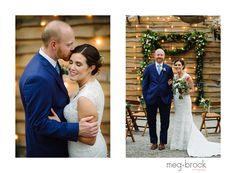 Philadelphia Terrain Wedding, Wedding Dress, Meg Brock Photography, Madison James, Bride, Bride and Groom, Wedding Portrait, Rainy Day Wedding