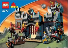 Duplo Knights Castle -  [4777] - Instructions