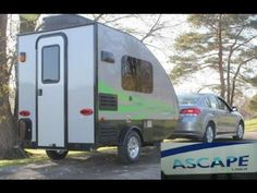 NEW 2017 Aliner Ascape Travel Trailer | Mount Comfort RV - YouTube -  Very NICE