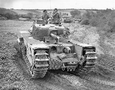 World Of Tanks, Churchill, Army Vehicles, Armored Vehicles, Military Armor, Military Tank, Ww2 Photos, Ww2 Pictures, Colorized Photos