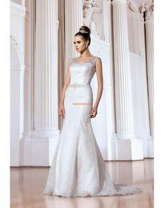 Frühling 2014 Elegant & Luxuriös 3/4 Arm Brautkleider 2014