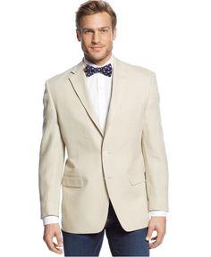 Lauren Ralph Lauren Solid Linen Sport Coat - Blazers & Sport Coats - Men - Macy's