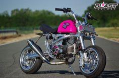 Custom Mini Bike, Custom Bikes, Small Motorcycles, Honda Cub, Pit Bike, 50cc, Concept Art, Racing, Monkeys