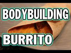Bodybuilding Snack for Students:  5 Minute Chicken Burrito - 300th Video!