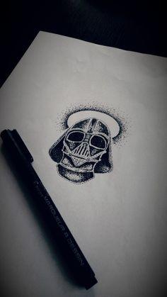 Dotwork Vader