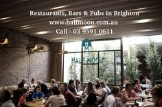 Half moon is one of the best restaurants in Brighton for fine dining experience with formal dining room. Enjoy wide range of delicious food with daily specials in our cafe. Visit - http://www.halfmoon.com.au/