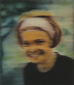 Gerhard Richter - Inge (bunt), 1965