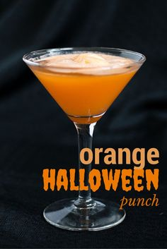 Easy Halloween Punch with Fanta