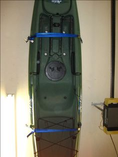 Awesome Kayak Garage Storage How To