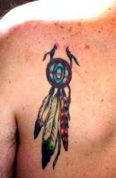 Indian Feather Tattoos And Meanings-Indian Feather Tattoo Ideas And Designs