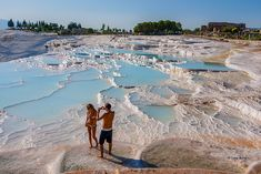 Pamukkale, Denizli Province, Turkey by Zafer Buna Therme Vals, Spa Center, Pamukkale, The Visitors, Blue Lagoon, Tenerife, Hot Springs, Places To See, Spain