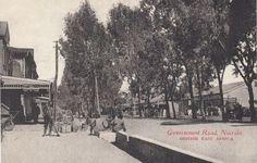 Government Road Nairobi 1910s