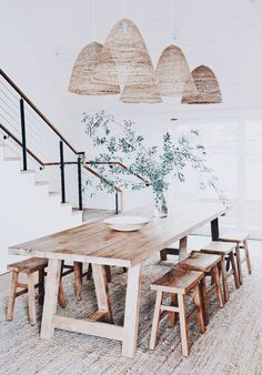 60 Easy Rustic Farmhouse Dining Room Makeover Ideas - Page 3 of 60 - Choti Decor Dining Room Design, Dining Room Furniture, Dining Area, Rustic Furniture, Furniture Design, Furniture Ideas, Dining Sets, Small Dining, Farmhouse Furniture