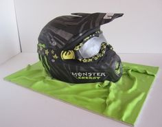 Helmet cake By dittle on CakeCentral.com
