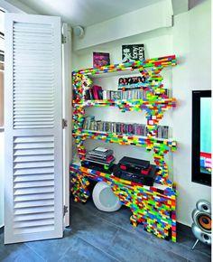 11 Ingenious Bookshelves Made from Unusual Re purposed Items